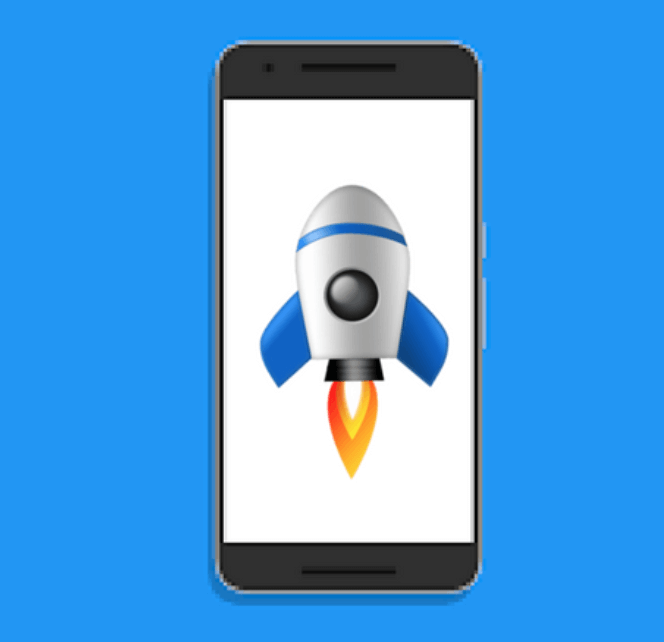 speed up your android phone, rocket on phone, android phone speed