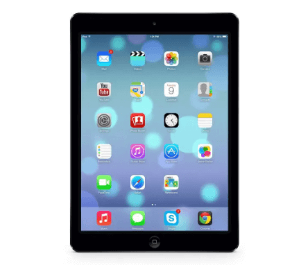 i pad front on, ipad from the front, ipad slow, slow tablet