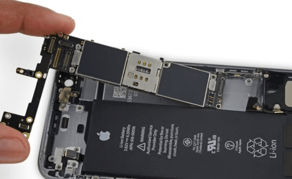 removing the new iphone 6 logic board