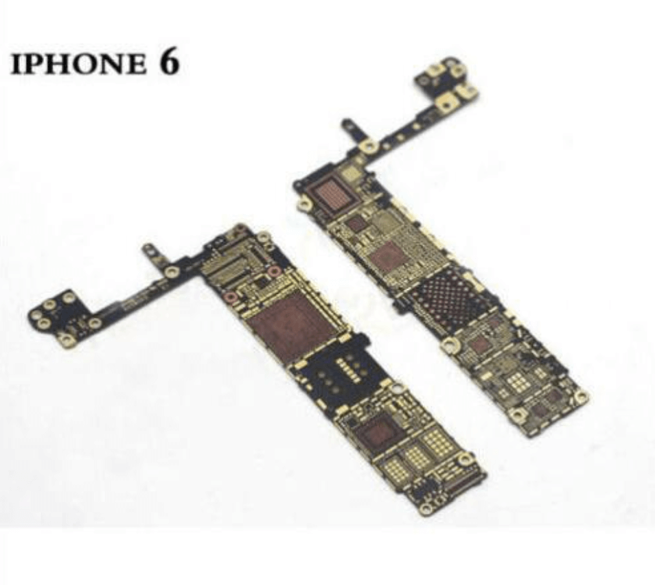 iphone 6 logic board old and new
