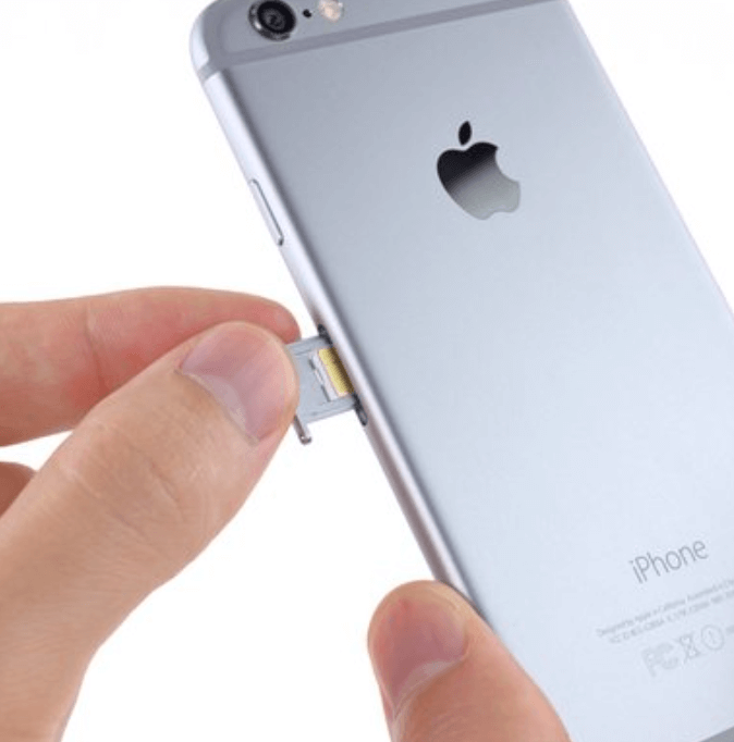 iphone 6 sim card removal
