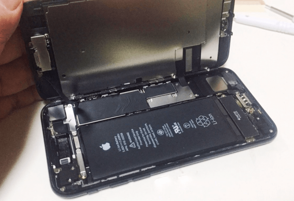 iphone 7 battery removal